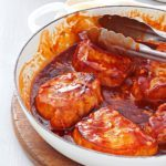 Sweet Barbecued Pork Chops