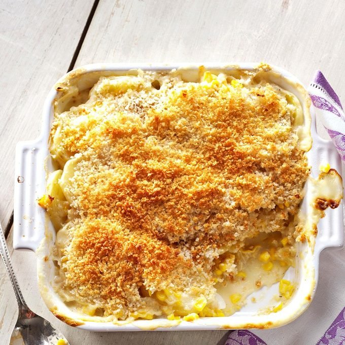 Sweet Corn and Potato Gratin