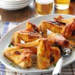 Sweet Gingered Chicken Wings