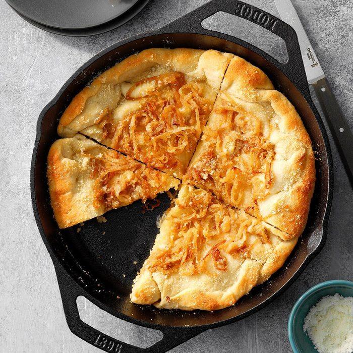 Sweet Onion Bread Skillet