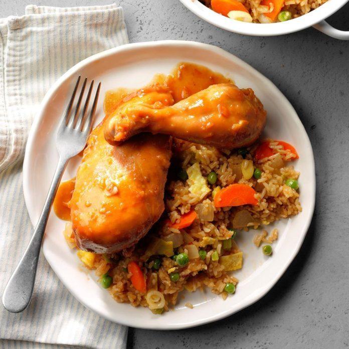 Sweet Orange Chicken