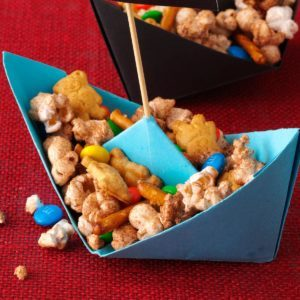 Sweet Popcorn Snack Mix