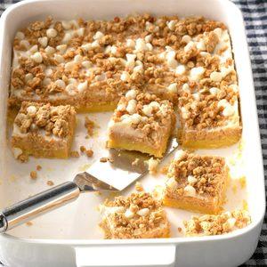 Sweet Potato Cheesecake Bars