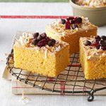 Sweet Potato Cranberry Cake
