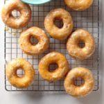 Sweet Potato-Cranberry Doughnuts
