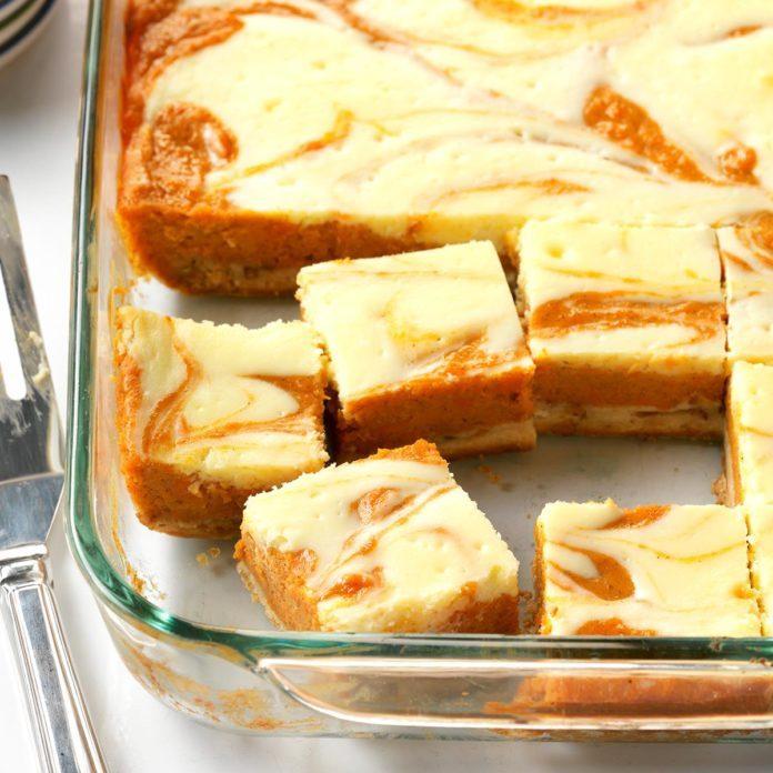 Sweet Potatoes: Sweet Potato Cream Cheese Bars
