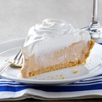 Sweet Potato Ice Cream Pie