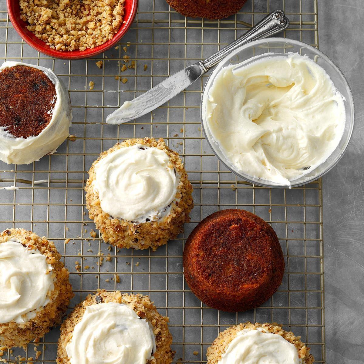 Sweet Potato Mini Cakes