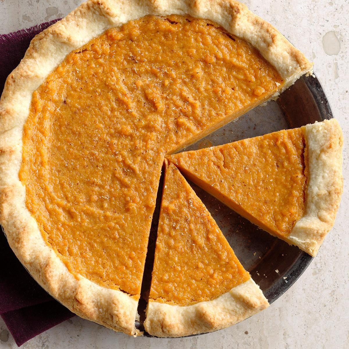 Sweet Potato Pie Recipe | Taste of Home