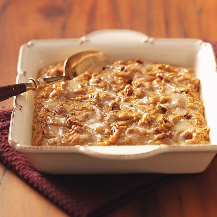 Sweet Potato Praline Swirl