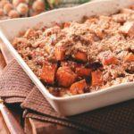 Sweet Potatoes with Pecan-Cinnamon Crunch