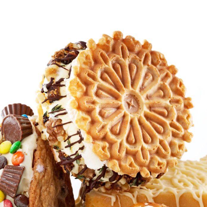 Sweet & Savory Ice Cream Sandwiches