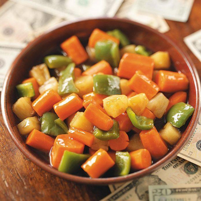Sweet & Sour Carrots
