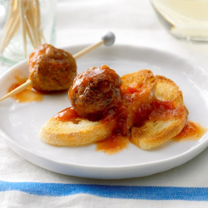Sweet Sour Turkey Meatballs Recipe How To Make It Taste Of Home