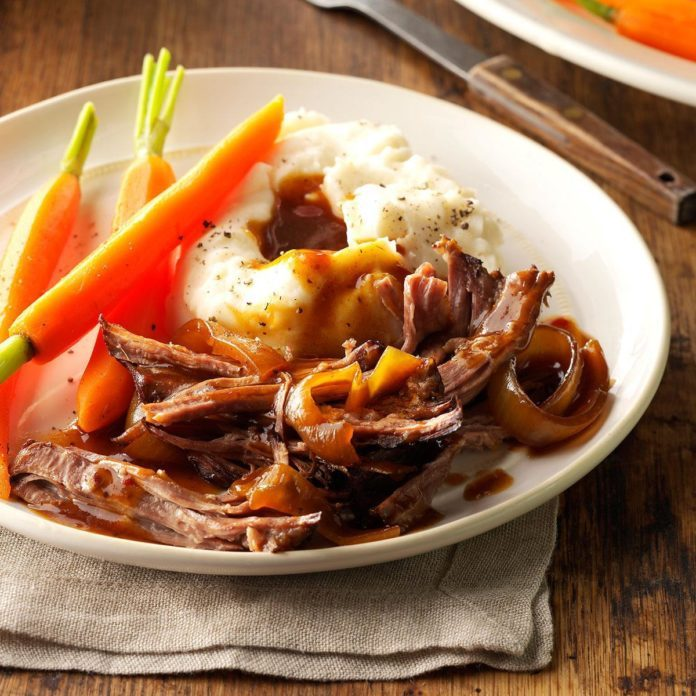 Sweet & Tangy Beef Roast