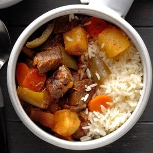 Sweet-and-Sour Beef Stew