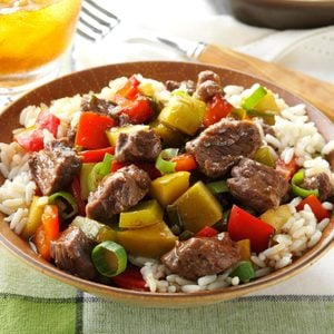Sweet-and-Sour Beef