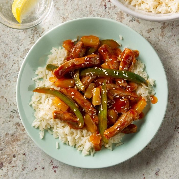 Sunday: Sweet-and-Sour Pork