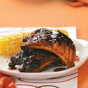 Sweet and Spicy Jerk Ribs