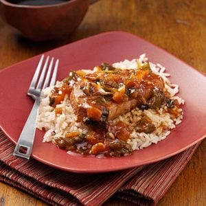 Sweet and Tangy Asian Pork Chops