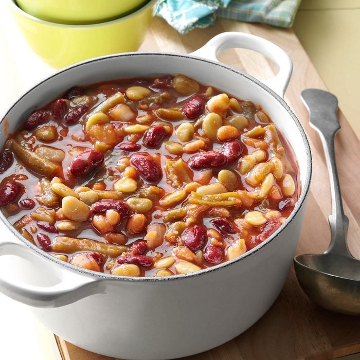 Sweet and Tangy Ranch Beans