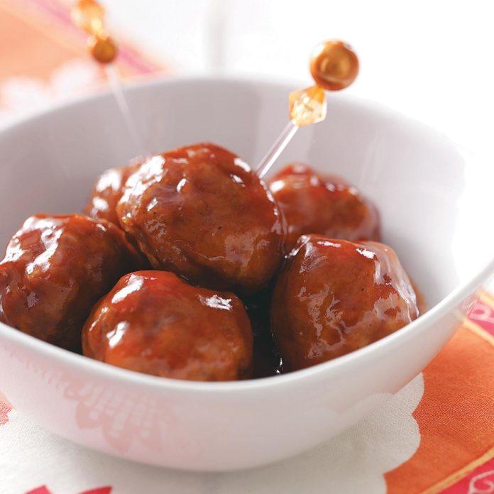 Sweet 'n' Spicy Meatballs