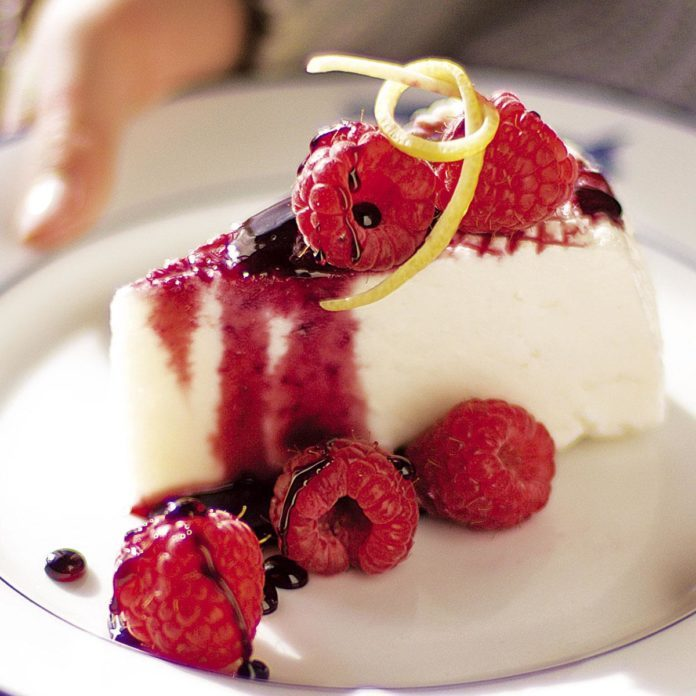 sweetened ricotta with berries recipe taste of home