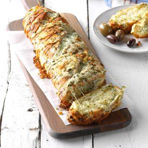 Swiss Cheese Bread