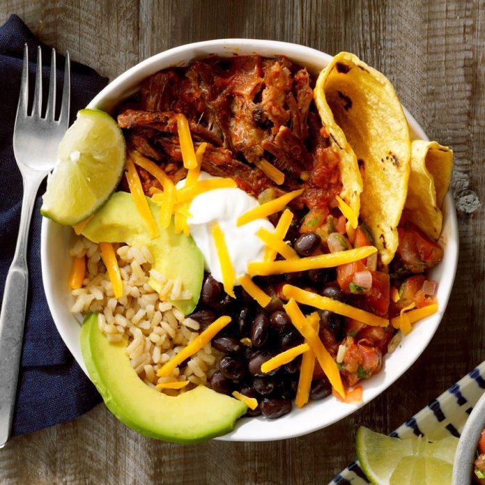 January 27: Taco Bowls