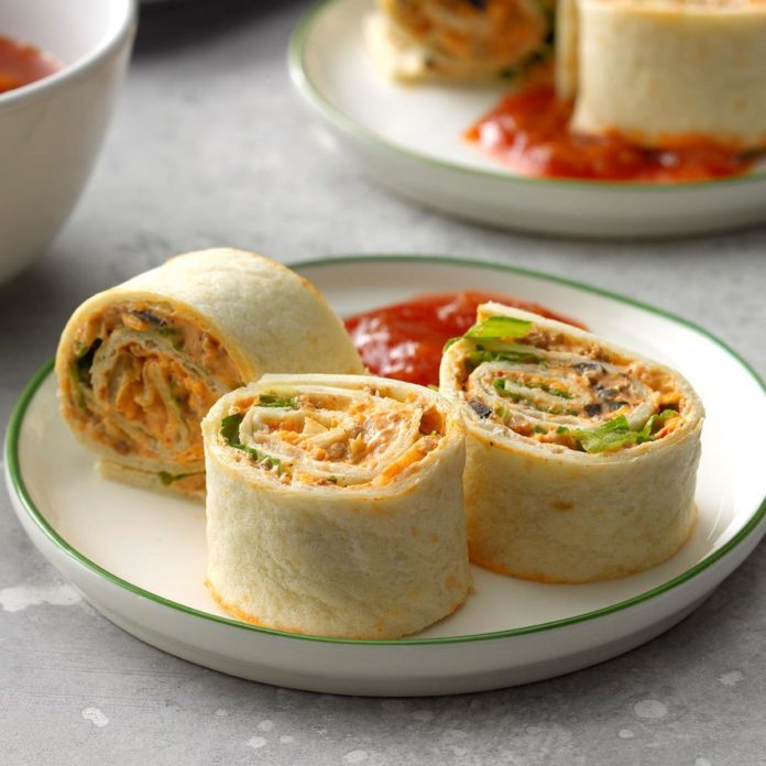 Thursday: Taco Pinwheels
