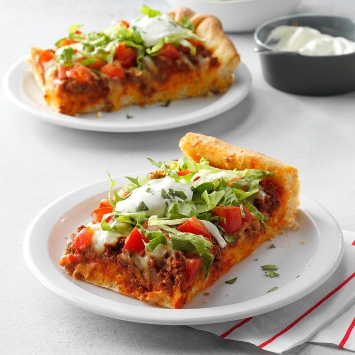 Monday: Taco Pizza Squares