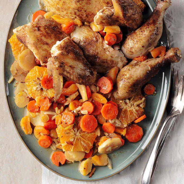 Day 28: Tangerine Chicken Tagine