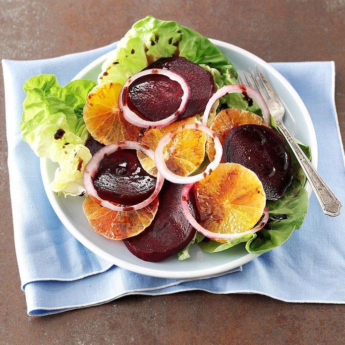 The 1990s: Tangerine & Roasted Beet Salad