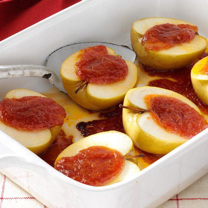 Tangy Baked Apples