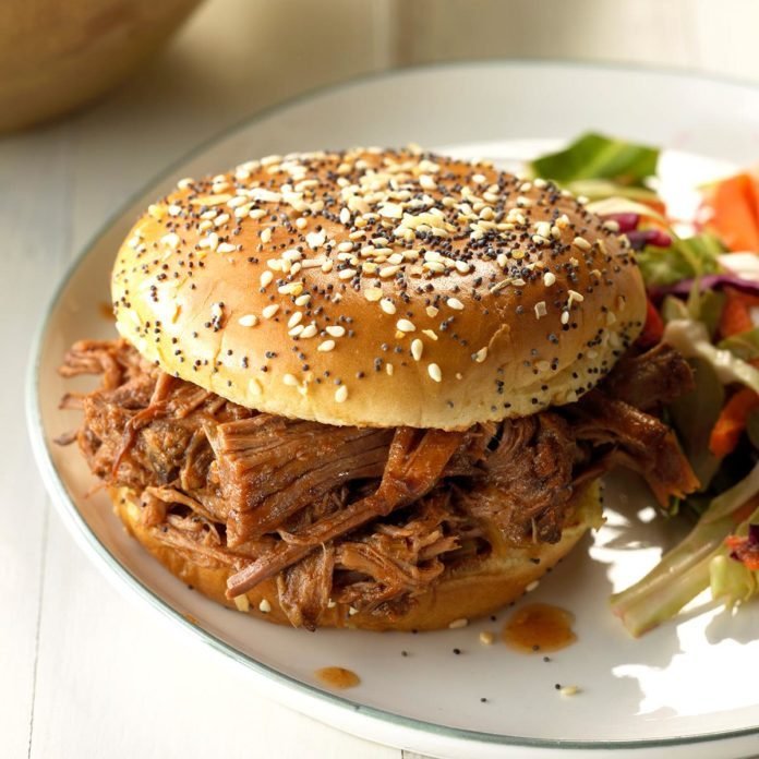 Day 5: Tangy Barbecue Sandwiches