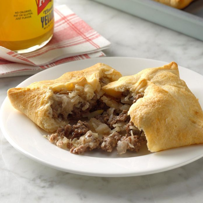 Tangy Beef Turnovers