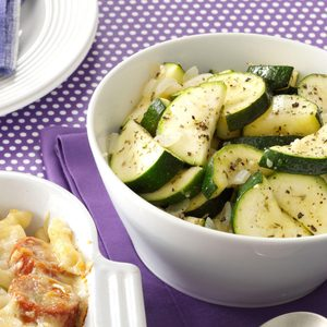 Tangy Zucchini Saute