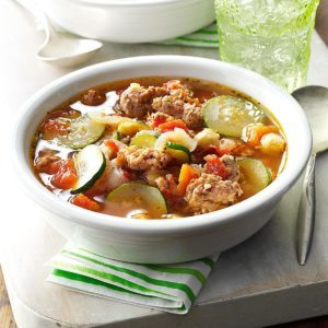 Tasty-Italian Vegetable Soup