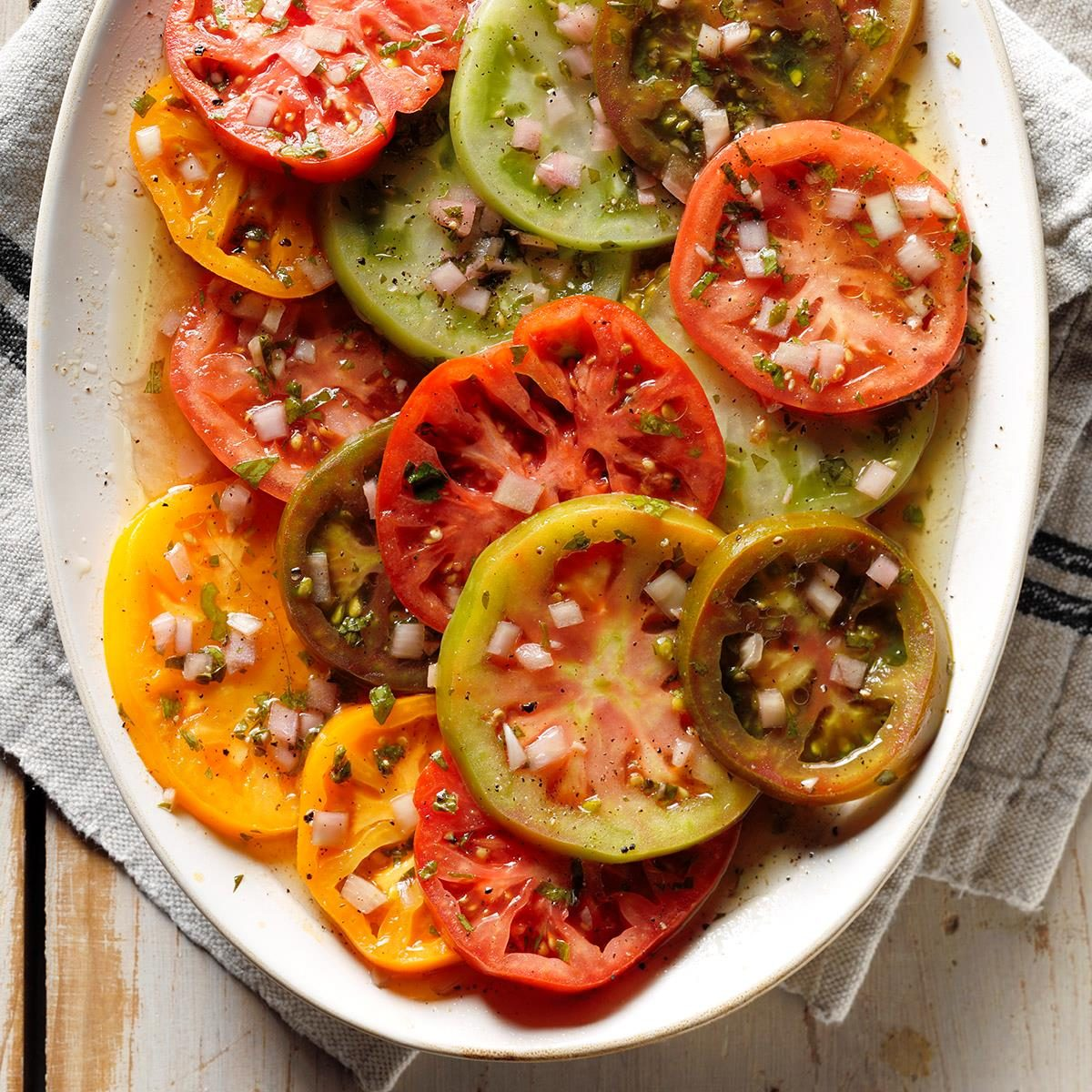 Tomatoes: Tasty Marinated Tomatoes