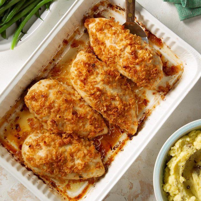 Tuesday: Tasty Onion Chicken