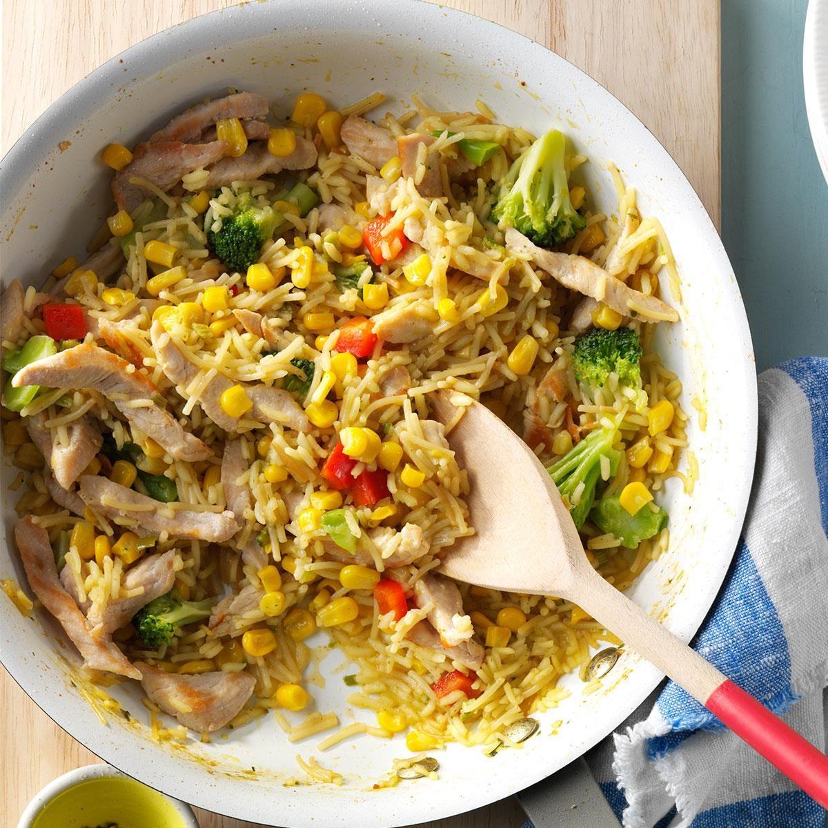 Tasty Turkey Skillet