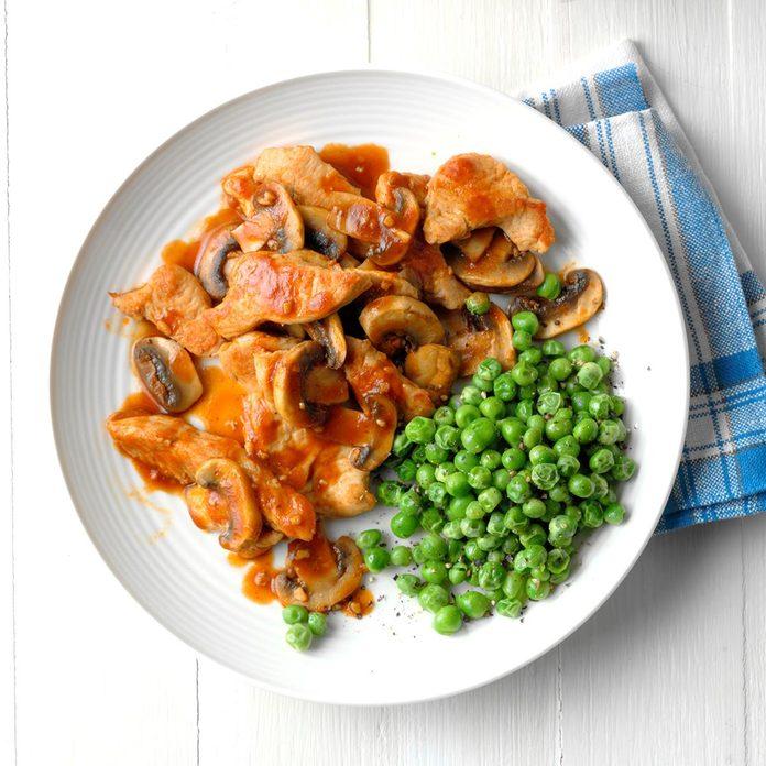 Day 7: Tasty Turkey and Mushrooms