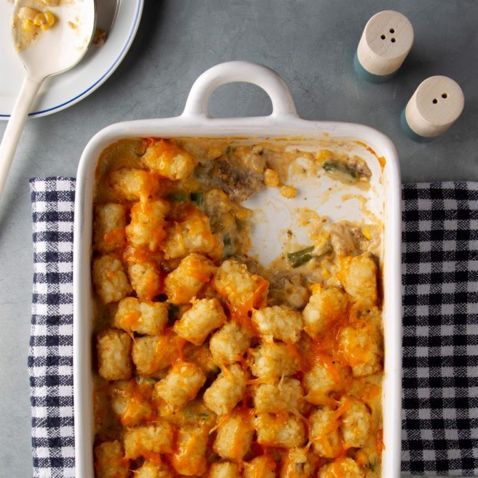 Day 3: Tater Tot Casseroles
