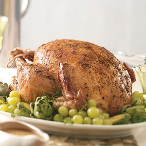 Tender Herb-Roasted Turkey