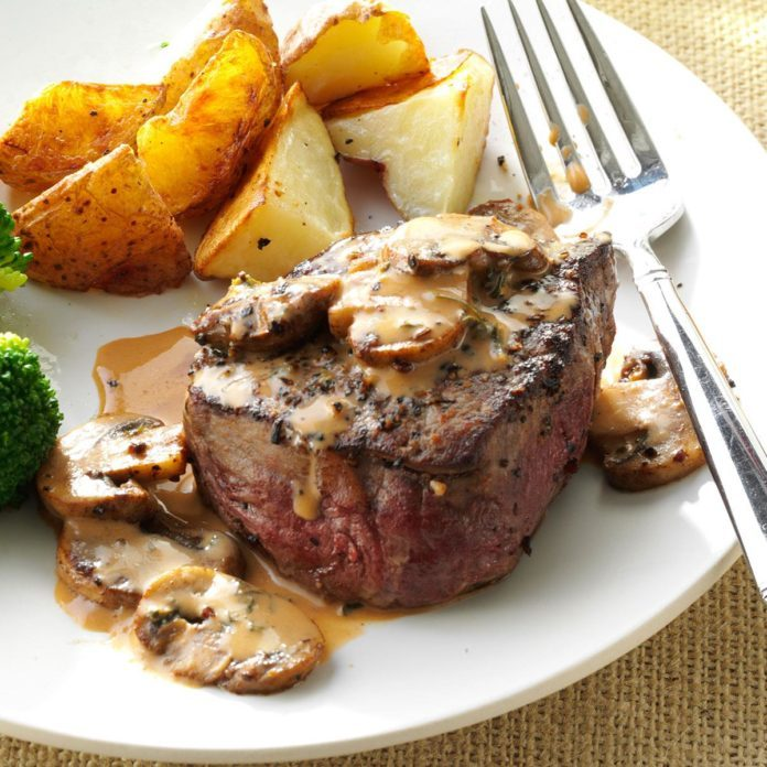 Tenderloin Steak Diane