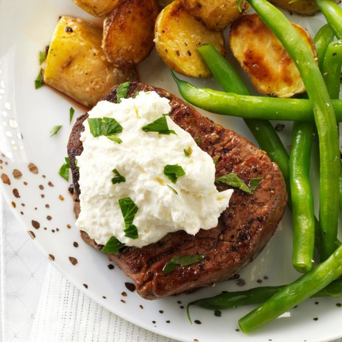 Tenderloin with Horseradish Cream Cheese