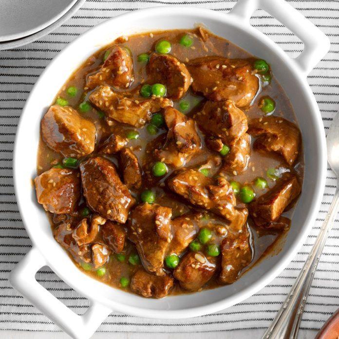 Teriyaki Beef Stew