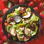 Teriyaki Chicken Salad with Poppy Seed Dressing