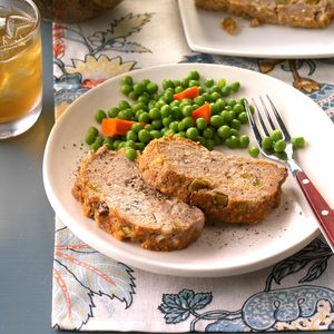 Terrific Turkey Meat Loaf
