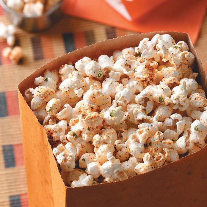 San Antonio Spurs: Tex-Mex Popcorn